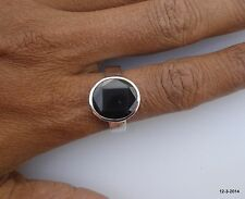 ring cocktail ring handmade sterling silver ring garnet gemstone