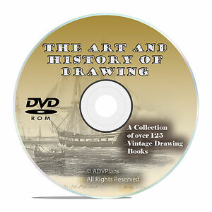 127 BOOKS Drawing & Sketching - How to draw - History and Art of Drawing DVD V54
