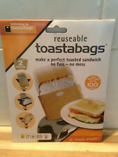 Reusable Toastabags: 2 Packs of 2