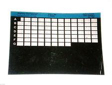 Microfiche Catalogo Ricambi Harley Davidson XL Modello 1979 fino a 1985 Stand