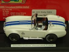 "MRRC MC0023 FORD SHELBY COBRA ""ROAD AND TRACK"" NEW 1/32 SLOT CAR IN DISPLAY"