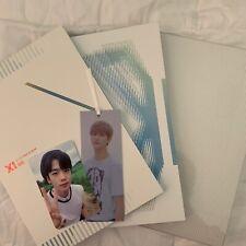x1 mini album quantum leap ; bisang vers (yohan pc, hangyul bm, junho standee)