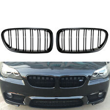 Gloss Black Kidney Grill Racing Grille Dual line for BMW F10 F11 F18 5 Series M5
