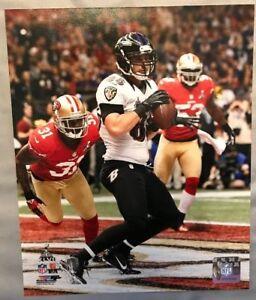 DENNIS PITTA Super Bowl XLVII 47 TOUCHDOWN Baltimore Ravens LICENSED 8x10 photo