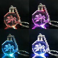 League of Legends Ninetailed Fox Ahri LED Keychain Keyring Pendant Cosplay Gift