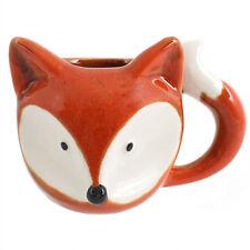 Cute Fox Ceramic Mug Woodland Animal Coffee Tea Hot Chocolate Cup Novelty GIFT
