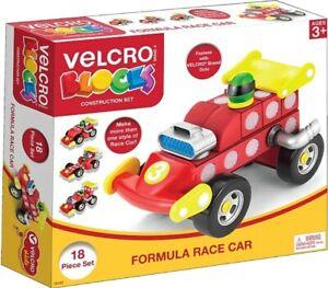 Velcro Blocks Formula Race Car 18 pieces set. - NEW