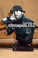 """Expendables 2 """"Couture"""" Color Figure Tabletop Display Standee 10.5"""""""