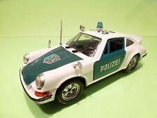 POLISTIL S22 PORSCHE CARRERA RS - POLIZEI 5339 POLICE - WHITE 1:25 - GOOD COND