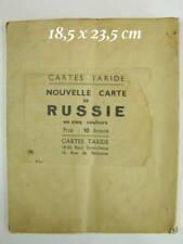 TARIDE - nouvelle carte de Russie en cinq couleurs - ArchiA