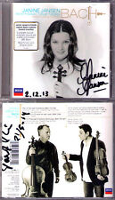 Janine Jansen Torleif thedeen SIGNED Bach 2 3 Part Inventions partita CD Rysanov