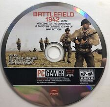 Battlefield 1942 Demo - PC Gamer #174 - DISC ONLY - Tested - Game Only