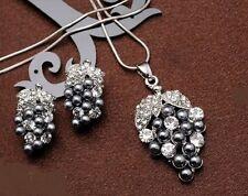 Modeschmuck-Sets aus Perlen mit Kristall für Damen