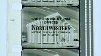 Advertising 16mm Film Reel - Northwestern Mutual Insurance S California (NW21)