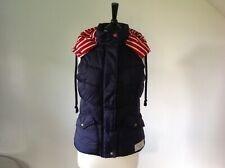 Ladies Navy Gillette/Body Warmer By Joules Size 8