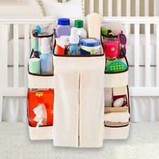 Waterproof Baby Bed Cot Closet Nursery Toys Diaper Storage Organizer Hanging Bag