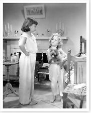 Child Stars Shirley Temple And Jane Withers Bright Eyes Silver Halide Photo