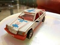 Modellino bianco Africa Rally polistil Mercedes BENZ  Scala 1/25  Made in Italy