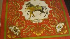 Hermes silk scarf,  CHEVAL TURC  .NEW +BOX AND RIBBON