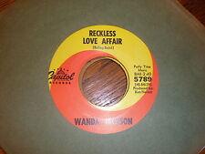 Wanda Jackson 45 Reckless Love Affair CAPITOL