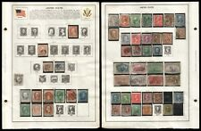 US 1851-1898 Used High Value Definitive & Commemorative Stamps CV$907