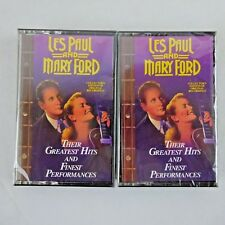 Les Paul and Mary Ford, Greatest Hits 2 Cassettes 1993 Readers Digest New Sealed