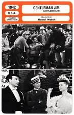 FICHE CINEMA : GENTLEMAN JIM - Errol Flynn,Raoul Walsh 1942