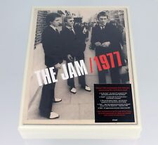 THE JAM | 1977 | SOLD OUT 2017 UK 40TH ANNIVERSARY 4-CD/DVD BOX SET & PRINT