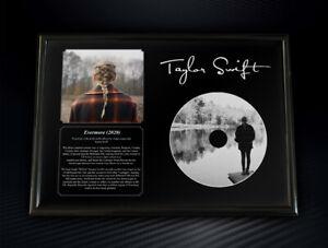 Framed Taylor Swift - Evermore Memorabilia