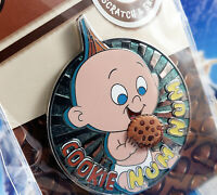 Disney Pin Scratch and Sniff Jack Jack The Incredibles Chocolate Chip Cookie LE