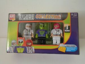 BLOCK TECH Figures Buzz Dax Jim Compatible with other leading brands New