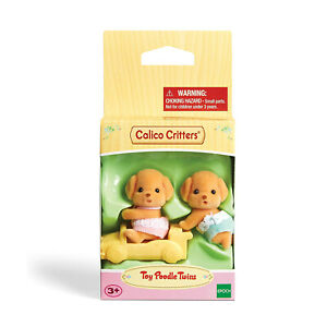 Calico Critters Toy Poodle Twins Set NEW IN STOCK