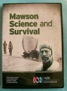MAWSON Science and Survival DVD Documentary Region 4 *see below