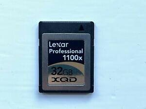 Lexar Professional XQD Memory Card 32GB 1100x