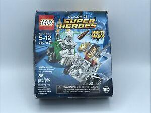 Dc Comics Super Heroes Mighty Micros: Wonder Woman vs Doomsday, Lego 76070 New