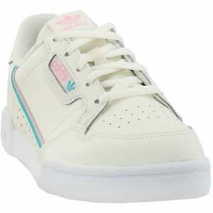 adidas Continental 80   Kids Girls  Sneakers Shoes Casual   - Off White - Size