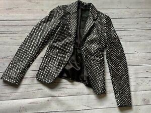 £795 Genuine Joseph Leather jacket, Joseph Jazz Leather Diamond Jacket, Size S