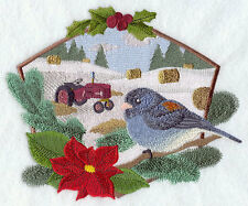 Embroidered Ladies Fleece Jacket - Junco and Tractor F6255 Sizes S - XXL