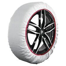 Pair Of Car Snow Socks Tyre Grip Husky Winter Driving Like Chains Anti-slip TX02