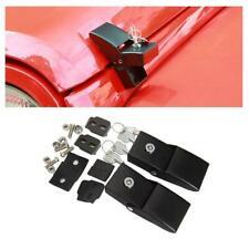 Accessories Hood Lock Hood Latch Catch Set With Lock For Jeep Wrangler JK 07-17