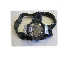 Mani libere TESTA LUCE 7 LED, 300 ore durata della batteria, testa flessibile Cinturino