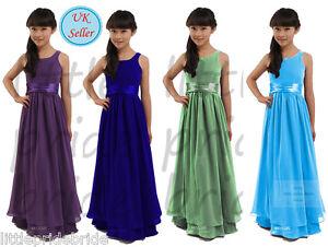 A-Line/Princess Flower Girl Party Evening Wedding Bridesmaid dress age2-14(FG02)
