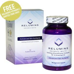 ❤Relumins Advance White 1650mg Glutathione Complex W/Free Relumins Vit C - Sale$
