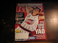 Sports Illustrated for Kids w/ LEBRON JAMES ROOKIE CARD - MAY 2003 - EXCELLENT
