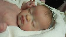 QUEEN'S CRIB OOAK  REBORN BABY GIRL DOLL PRINCESS LIL TREASURE by Laura L Eagles