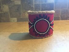 Native American beaded Armband Cherokee Beadwork Pow Wow Regalia