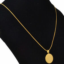 Necklace 9ct Gold GF Sovereign Coin Holiday Seasonal Gift and Chain