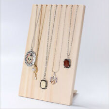 Tall Large Synthetic Wood Necklace Display Bust For Long Necklaces 390x240x130mm