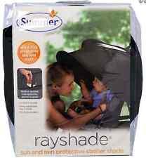NEW SUMMER INFANT RAYSHADE SUN & RAIN PROTECTIVE STROLLER SHADE BABY PROTECTION