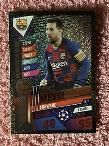 MATCH ATTAX 101 2019/20 LIONEL MESSI BRONZE LIMITED EDITION LE2B GREAT